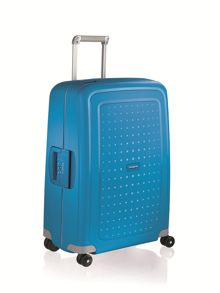 S`cure pacific blue 4 wheel 75cm spinner