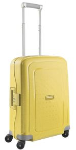 S'Cure Yellow luggage range