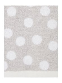Grey Polka Dot Towel Collection