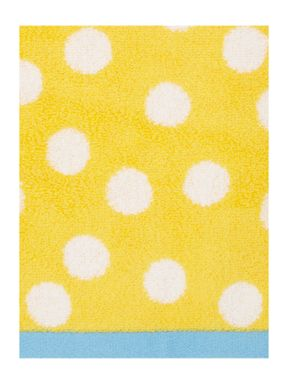 Dickins & Jones Yellow Polka Dot Towel Collection