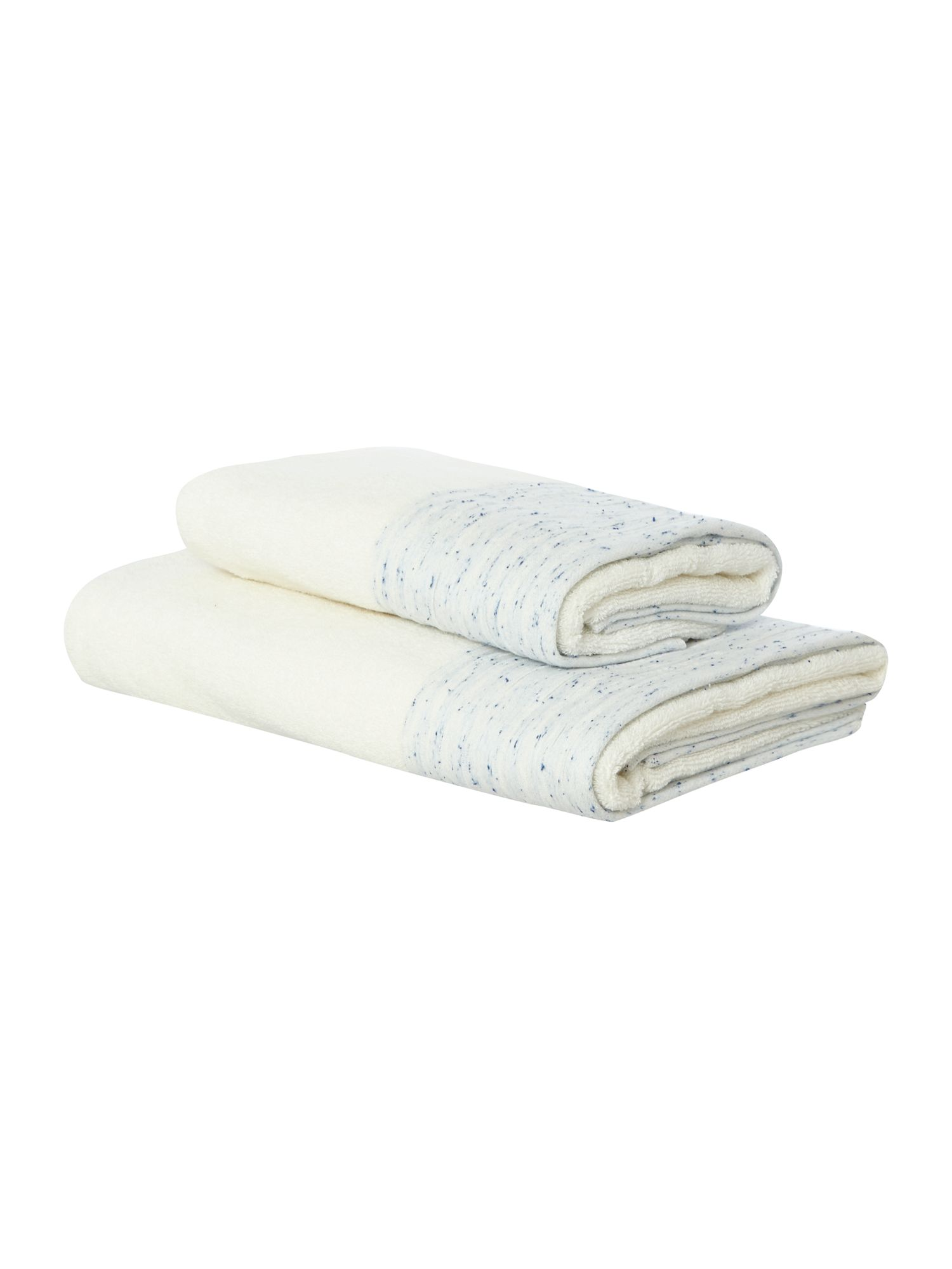 Fleck Denim Towel Range