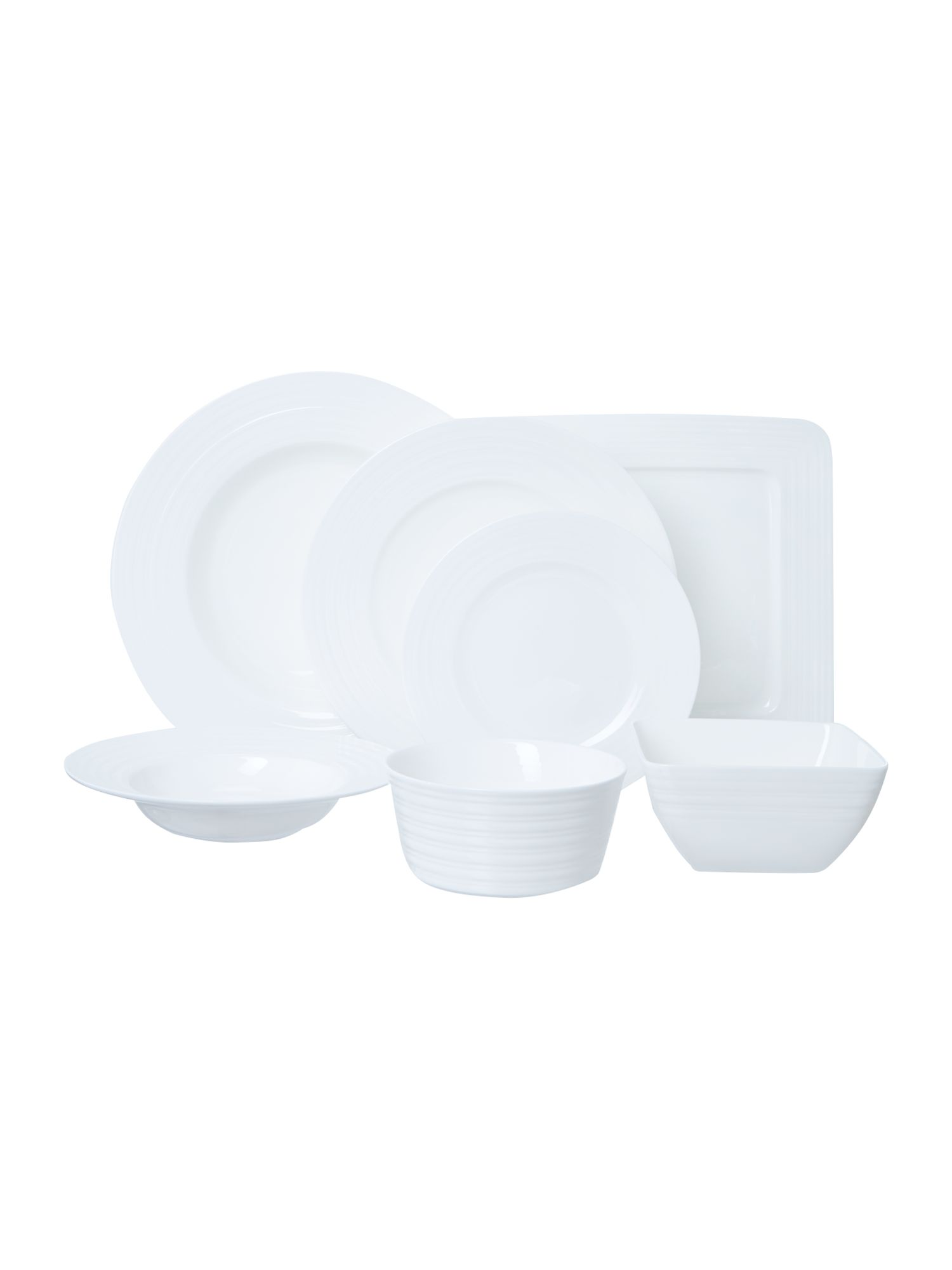 Soho rimmed soup bowl set of 4