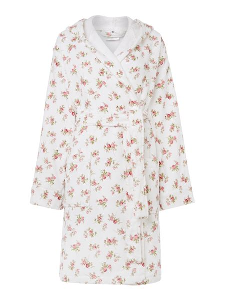 Shabby Chic Scattered rose print m/l
