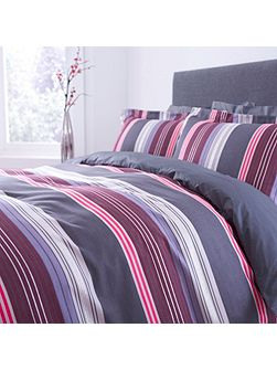 Eliane stripe oxford pillowcase pair