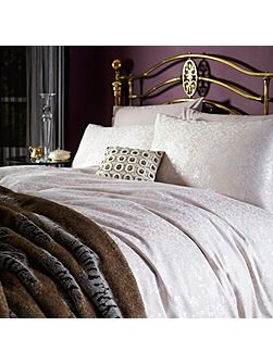 Eliza jacquard super king duvet cover