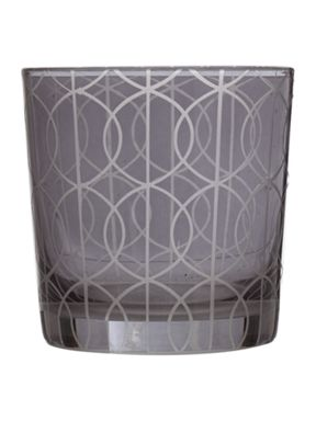 Living by Christiane Lemieux Gate Smoky Glassware Range