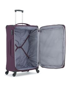 Aire Purple 4w Soft Luggage Set