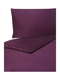 500 TC square pillowcase pair blackberry