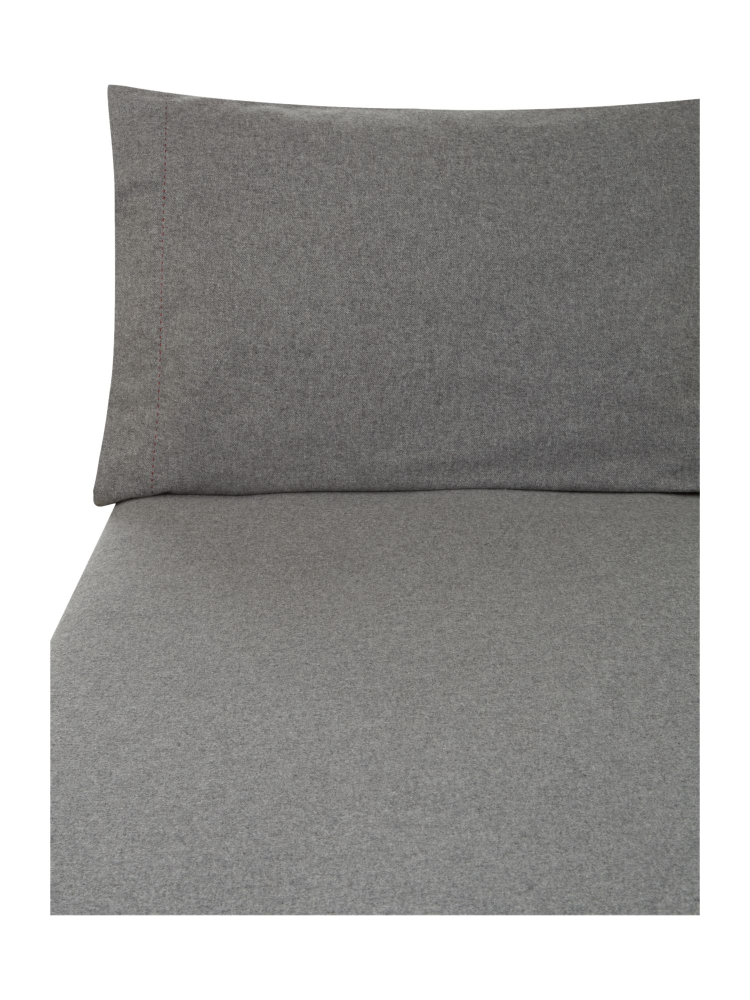 Linea grey flannel bedding range