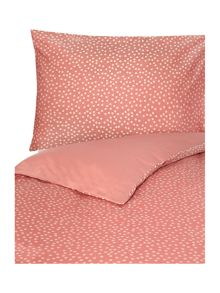 Red Polka Duvet cover set