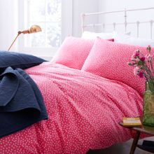 Dickins & Jones Red Polka Duvet cover set