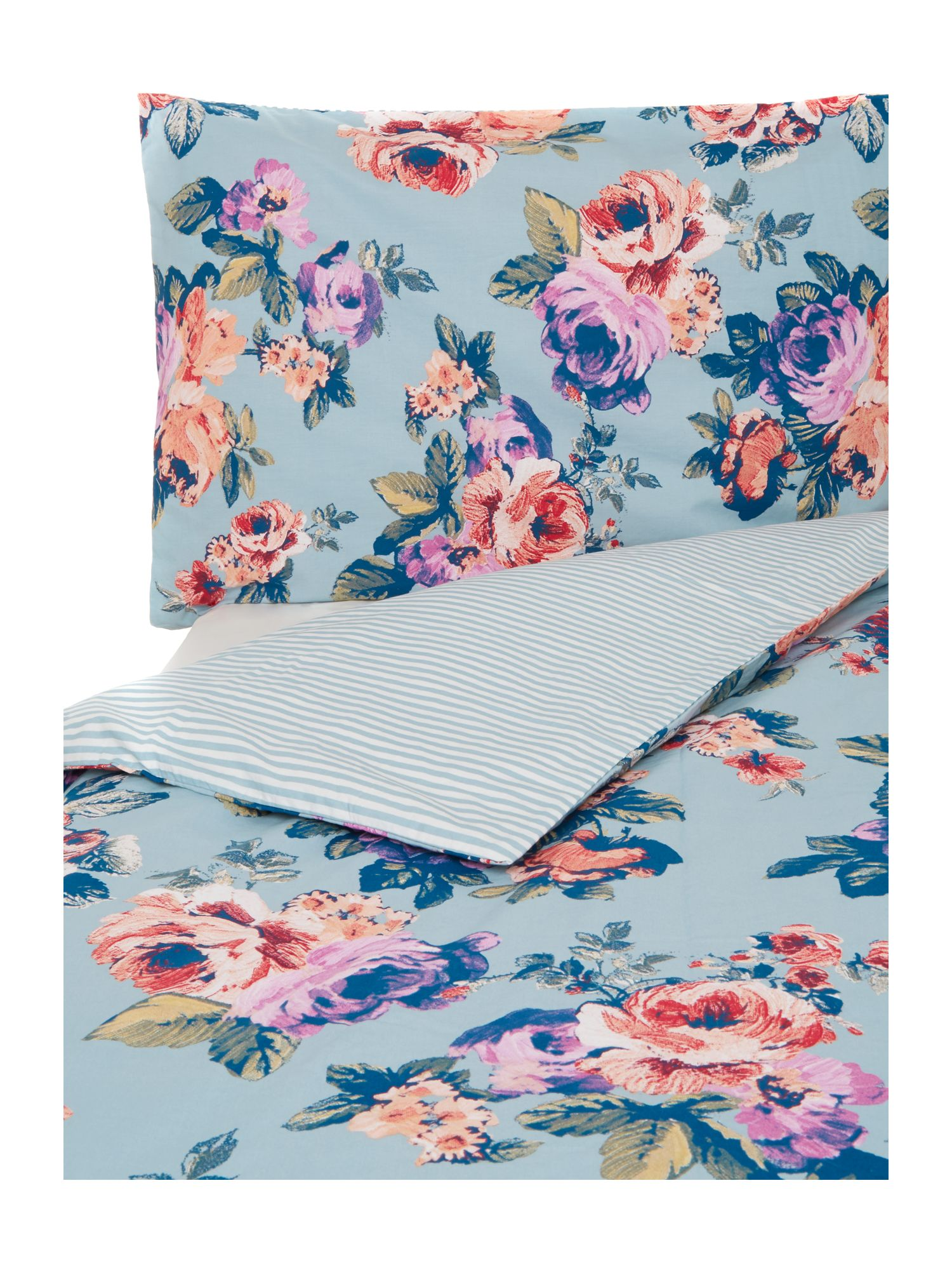 Ludlow Rose print duvet cover set