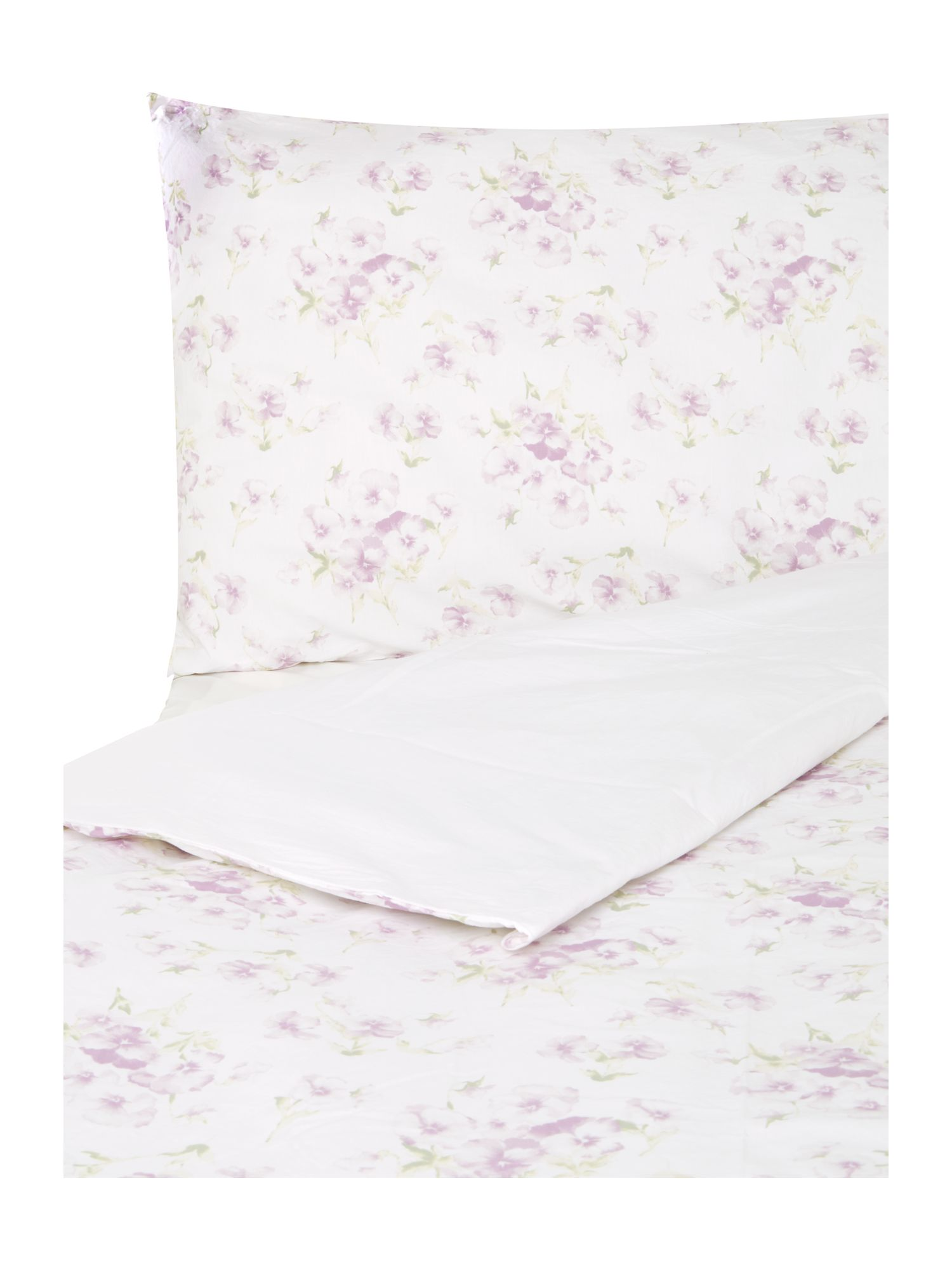 Pansy Print Bed Linen Set