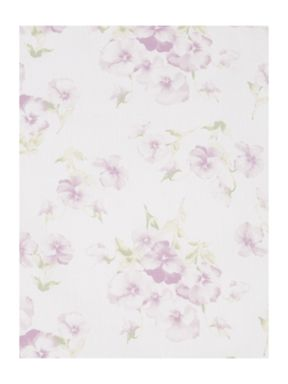 Shabby Chic Pansy Print Bed Linen Set