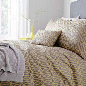 Living by Christiane Lemieux Donwell Lacttice Bed Linen Set