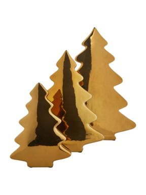 Linea Gold Porcelain Tree