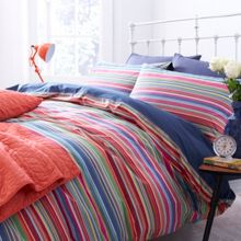 Stripes housewife pillowcase pair
