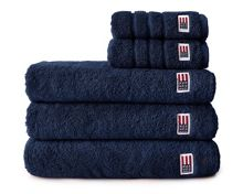Lexington original towel range in navy