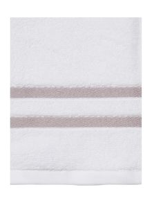 Weft Insert Light Grey Towel Range