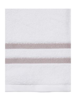 Luxury Hotel Collection Weft Insert Light Grey Towel Range