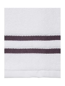 Weft Insert Dark Grey Towel Range
