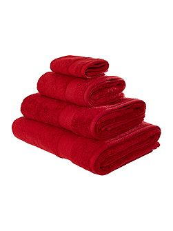 Egyptian Cotton Bath Sheet in Red