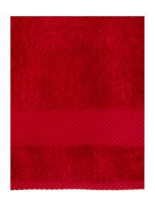 Linea Linea egyptian red towels