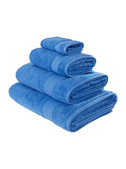 Egyptian Cotton Bath Towel in Cornish Blue
