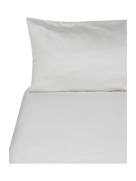 Pied a Terre 300 thread count platinum oxford pillow pair