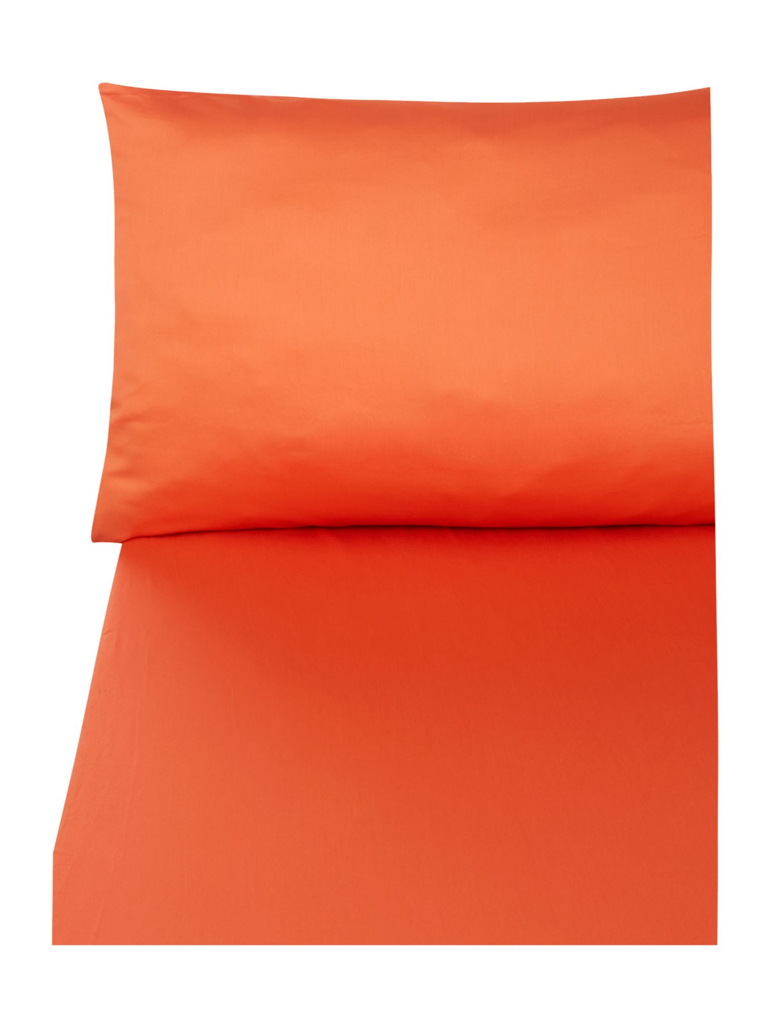 D&J 300 thread orange bedding range