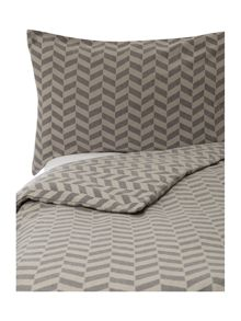 Living by Christiane Lemieux Flannel chevron bedding range