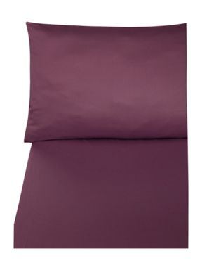 Biba 300tc bordeaux bedding range