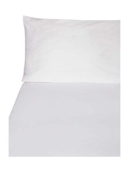 Casa Couture 600 thread count white oxford pillowcase pair