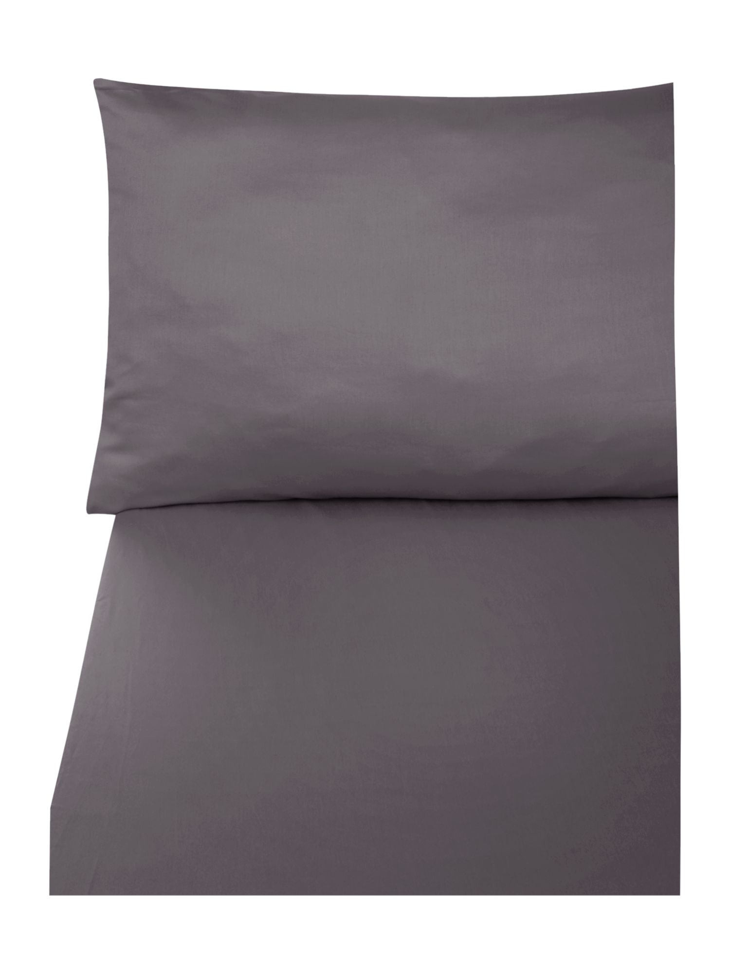 600 thread count king fitted sheet in white