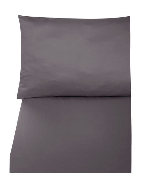 Casa Couture 600 thread count pale grey flat sheet king