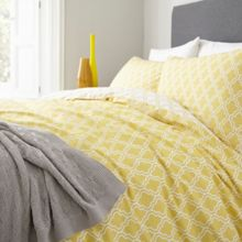 Morocco citrine king duvet set