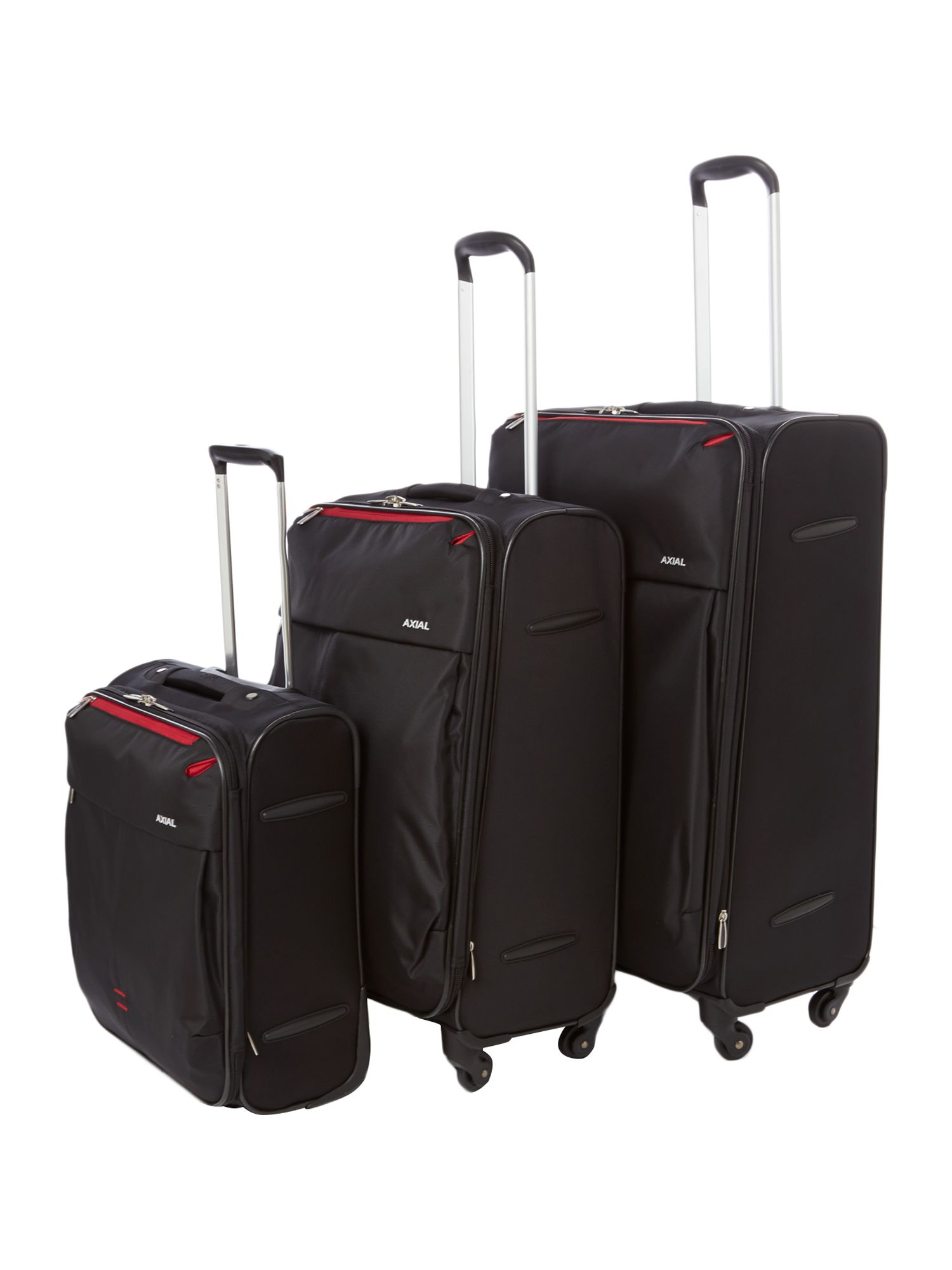 Axial Black Luggage Range