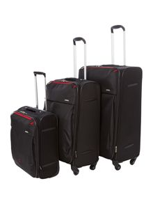 Delsey Axial Black Luggage Range