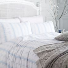 Shabby Chic Stripe Bed Linen Set