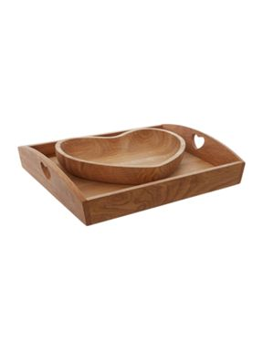 Linea Scandi-Oak Dinnerware range