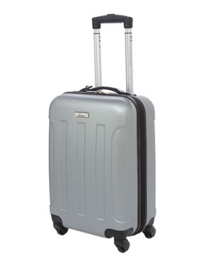 Linea Dakota Silver 4 wheel Hard Luggage Set