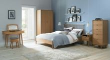 Hoxton Oak bedroom range