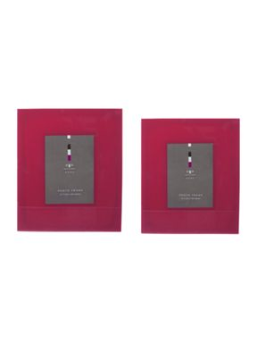 Pied a Terre Coral Bevelled Photo Frame range
