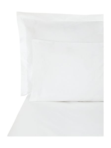 Luxury Hotel Collection 500 percale square pillowcase white