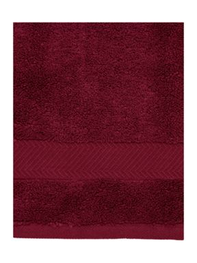Luxury Hotel Collection Zero twist towel collection in Red