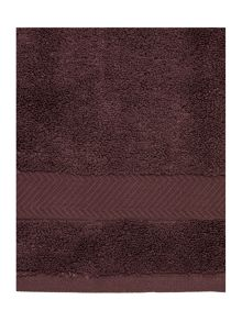 Zero Twist towel collection in Truffle