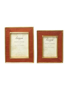 Faux Leather Frame Range