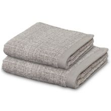 Tweed towel range in Beige