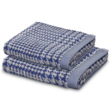 Prince of Wales towel range in Blue