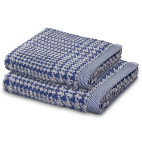 Move Prince of Wales towel range in Blue